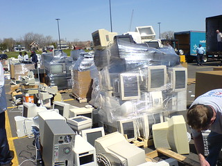 E-waste recycling in Ann Arbor | by georgehotelling