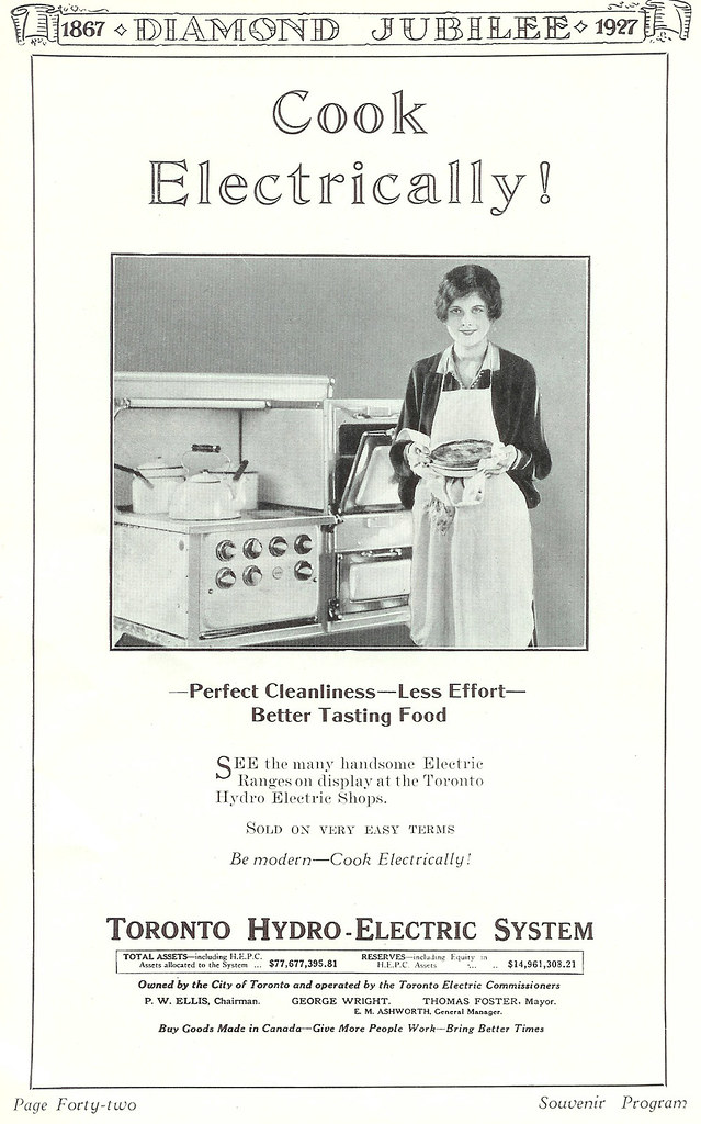 Vintage Ad #229 - Cook Electrically!