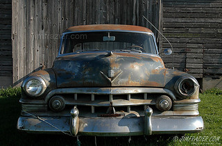 The Old Rusty Cadillac West of Rochelle, Illinois | by Jim Frazier
