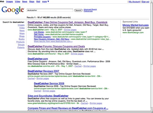 new google layout pretty cool these results showed up ton