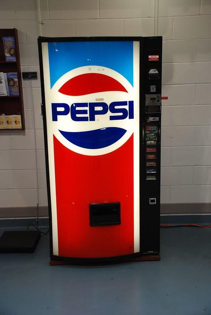 Old Pepsi Machine Flickr Photo Sharing