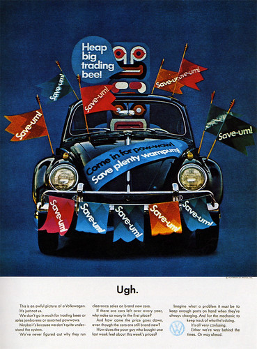 1960s Advertising - Magazine Ad - Volkswagen 2 (USA) | by ChowKaiDeng
