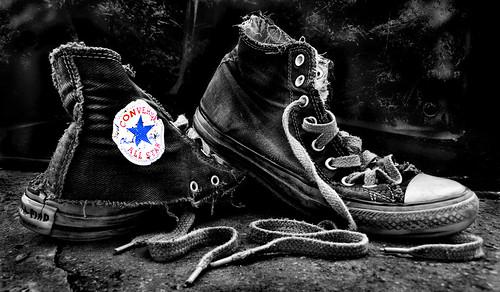 Converse Mono Black Shoes