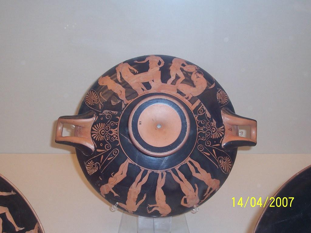 Cer mica griega british museum decoraci n de la parte - Decoracion griega ...