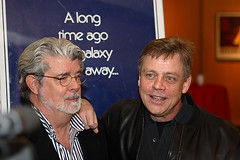 george lucas and mark hamill | by Orrin