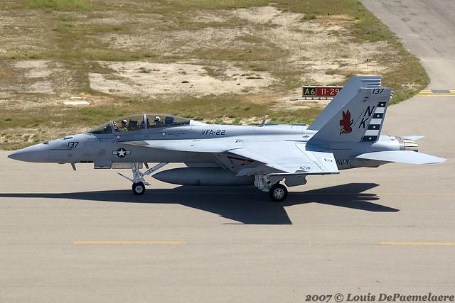 Boeing F 18f Super Hornet Vfa 22 Fighting Redcocks