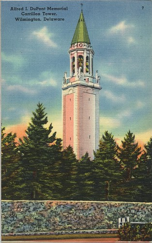Alfred I. DuPont Memorial Carrillon Tower, Wilmington, Delaware | by University of Delaware Library