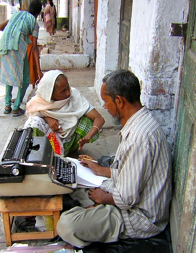 The Letter Writer | by rita banerji