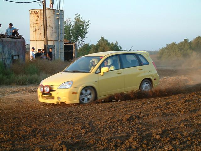 Suzuki Aerio Rally Car