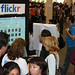 Flickr booth
