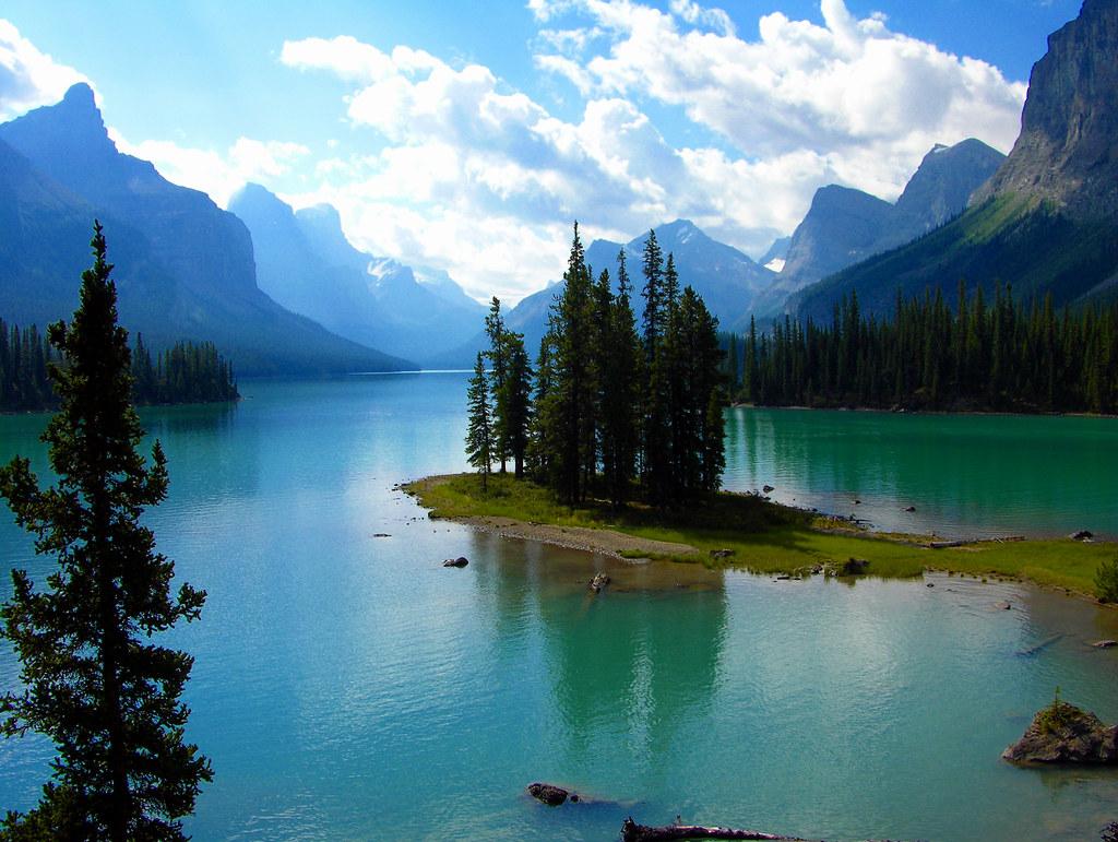 Spirit Island Maligne Lake Jasper National Park Flickr