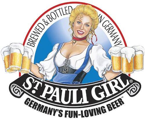 St Pauli Girl Beer Logo Another Gibson Girl Ahh So