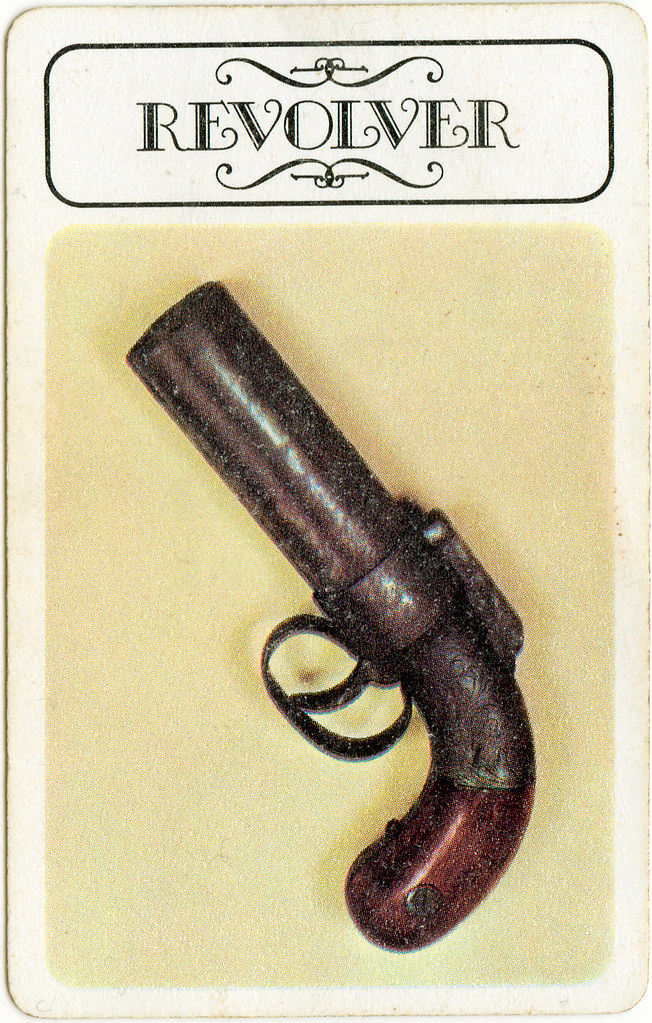 Clue - Weapons Revolver | board game pieces | Flickr