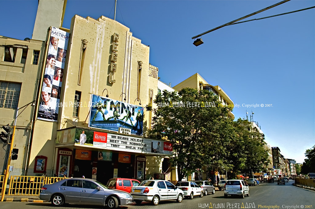 Colaba India  city photos gallery : Regal Theater, Colaba, Mumbai India | 3 cheers to all thes ...