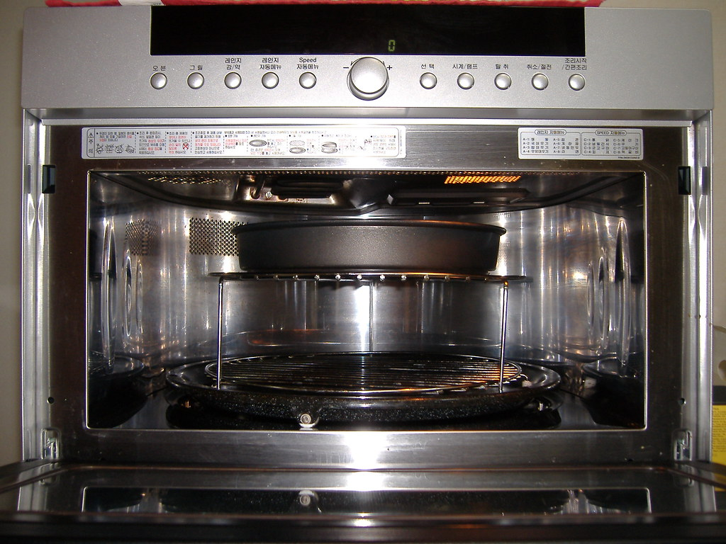 3in1 Convection Oven Microwave And Grill Inside Lg Dios
