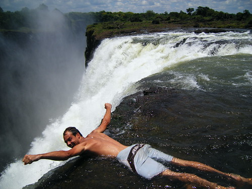 Devil 39 S Pool The Top Of Vic Falls Nandminafrica Flickr