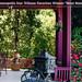 Moondance Inn porch and garden