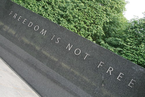 Freedom is not free | by jepoirrier