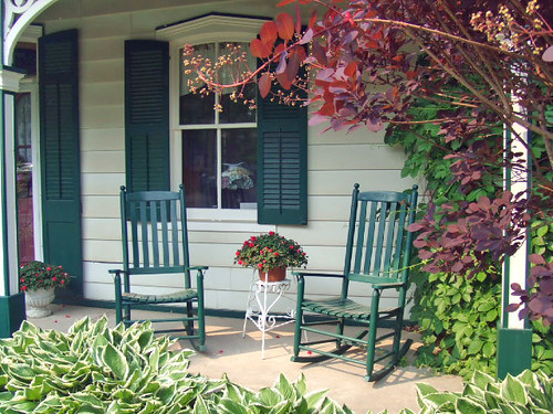 The Porch / Hosta | by bill barber