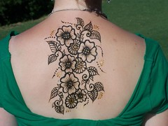 back henna | by Jigna Arts