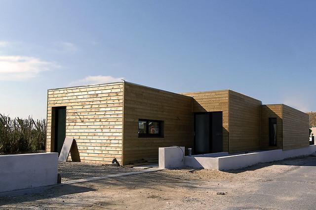 maison bois toit plat flickr photo sharing. Black Bedroom Furniture Sets. Home Design Ideas