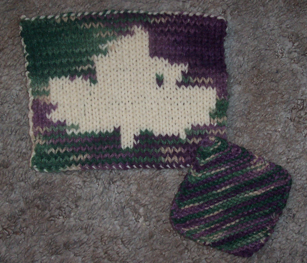 Awesome Double Knit Potholder Pattern Image Collection - Decke ...