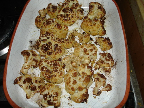 Roasted Cauliflower | by BaronessTapuzina