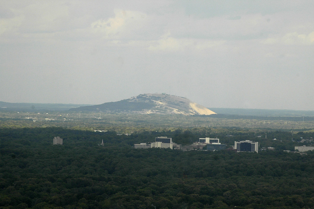 Elevation Of Stone Mountain : Stone mountain is a granite dome located