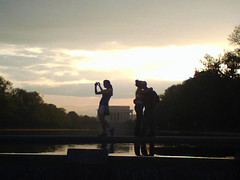 Lovers and Photographer - Washington, DC | by gregor_y