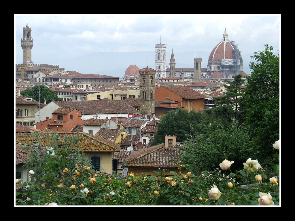 Firenze stamani dal giardino delle rose angela massagni flickr - Giardino delle rose firenze ...