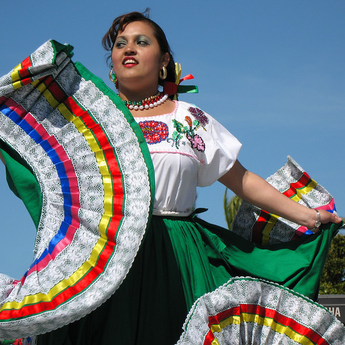 twirling cinco de mayo dress | by fotogail