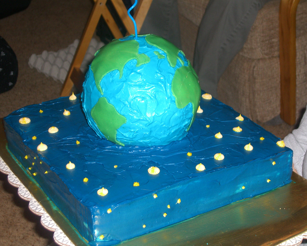 Globe Cake My Birthday S In A Little Over A Week