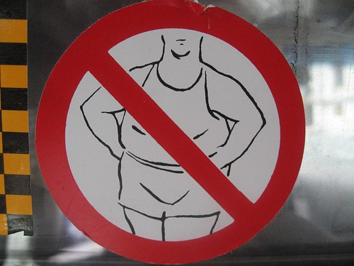 No Fat People Allowed | by Studio Sarah Lou