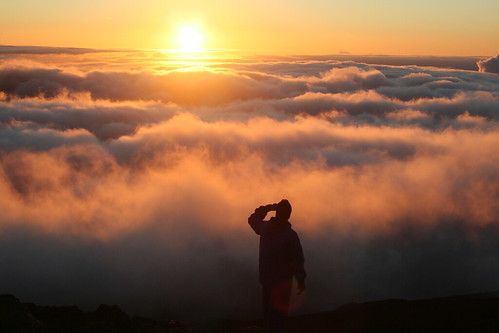 Standing over the clouds | by ewen and donabel