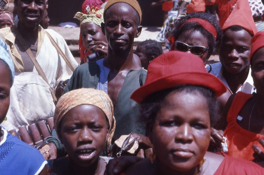 0 Down Car >> Political rally, Kabala, Sierra Leone, April, 1968 | Flickr