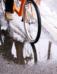 Bicycle reflection | by tanakawho