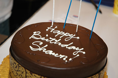 Happy Birthday Shawn Here S A Surprise Birthday Cake