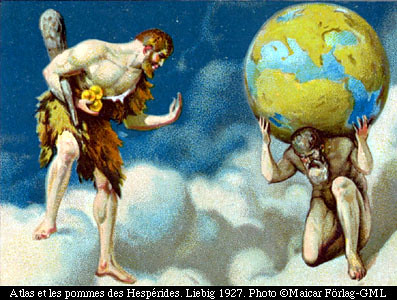 atlas the apples of the hesperides hercules eurystheus flickr. Black Bedroom Furniture Sets. Home Design Ideas