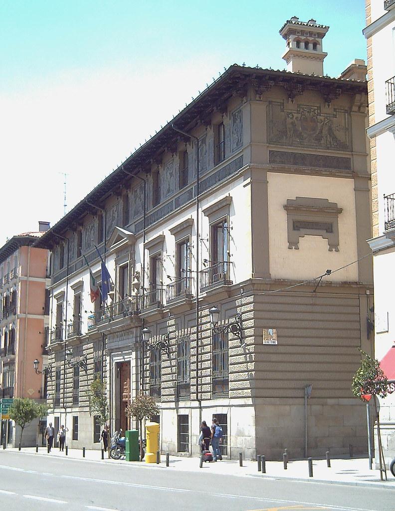 Palacio de abrantes madrid 01 palacio de abrantes en for Instituto italiano de cultura madrid