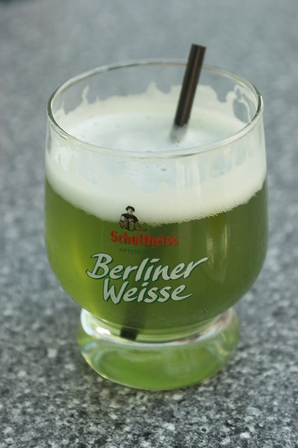 berliner weisse mit schuss yummy flickr photo sharing. Black Bedroom Furniture Sets. Home Design Ideas