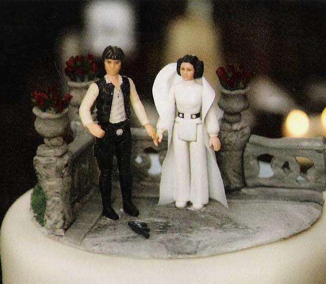 Wedding Cake Topper Sillhouet Drunk
