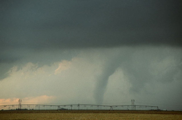 My First Tornado, Shot Right After It