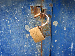 Broken Rusty Lock: Security (grunge) | by subcircle
