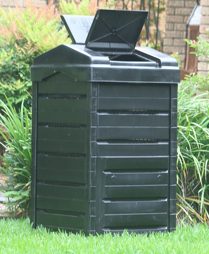 how to clean the compost bin