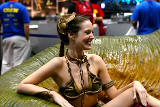 Christy Marie Princess Leia Slave Costume | by Planet-Heredia