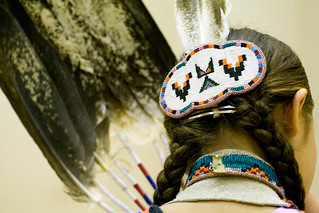 Feathers, braids, and beads | by Unhindered by Talent