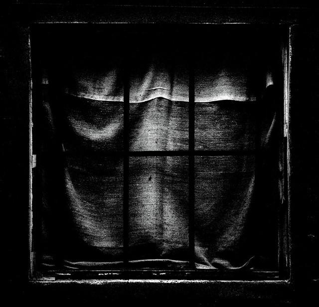 Dark window | Via della Ghiara 'Dark window' On Black | Susanne ...