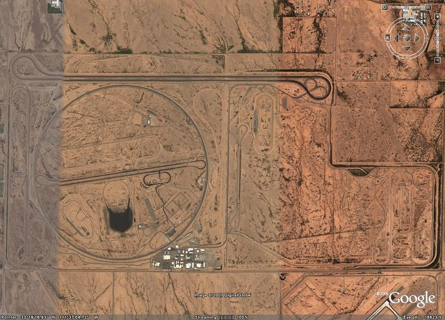 Gm Proving Grounds Gilbert Arizona North Is To The Left Flickr