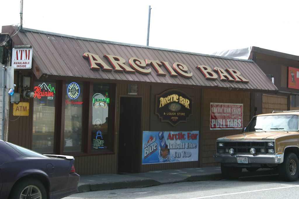 Arctic bar ketchikan alaska bob flickr for Artic arredo bar