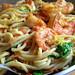 Pasta with Shrimp and Arugula